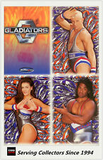 Australia The Gladiators (By Tempo) Trading Cards Base Card Full Set (100)