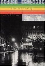 Walter Benjamin - Selected Writings, 1913-1926 Vol. 1 by Walter Benjamin...