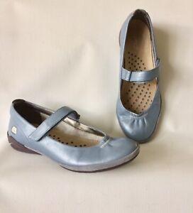 CLARKS ATSU Denim Blue Walking Comfort Sport Shoes Size 4.5 Worn Once