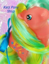 HQG1C Custom Vintage G1 Pretty Mane MLP Style Pony  🧡 RHYTHM 🧡 Artistry Girl!