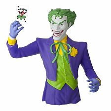 DC Comics The Joker Bust Bank NEW Coin Bank Figure Statue Detailed Classic Toys