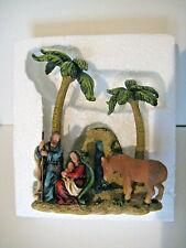 Kurt Adler 1 Pc Resin Nativity Scene
