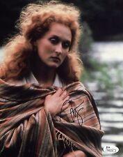 Meryl Streep Autographed Signed 8x10 Photo JSA COA