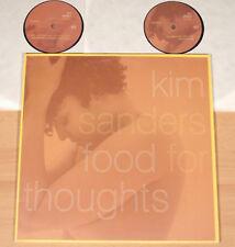 "KIM SANDERS - Food For Thoughts  (2000 / DOPPEL-12""-MAXI / NEUWERTIG)"