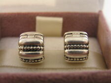 Beautiful Genuine Pandora Crazy Groove Clips x 2 in new box  3303