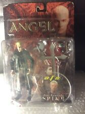 "NEW 2004 Buffy Vampire Slayer ✧ SPIKE ✧ Just Rewards Vintage 6"" Angel Figure MOC"