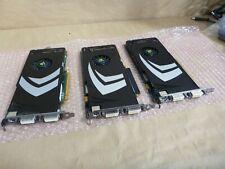 3x LOT Dell Nvidia GeForce 8800GT 512MB GDDR3 Graphics Card 1x CP187 & 2x j359k