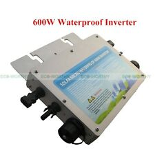 600W Waterproof Grid Tie Inverter 24V-230V W/ MPPT Function for Solar Panel Kit