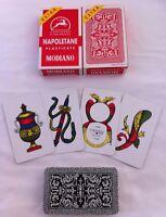 Modiano Napoletane Italian Playing Cards x2 Carte Italia Briscola Tresette NEW
