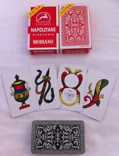 Modiano Napoletane Italian Playing Cards x2 Carte Italia Briscola Tresette NEW