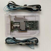 IBM M5015/LSI 2108 SATA/SAS Controller RAID 5 /6 512MB 6G PCIe + 2PCS 8087 SATA