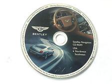 2004 2005 2006 Bentley  GT / Flying Spur Navigation CD Map Northwest Southwest