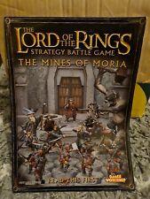 Le Seigneur des Anneaux La Moria Orcs Armies of Middle Earth Comme neuf IN BOX ou loose livraison gratuite