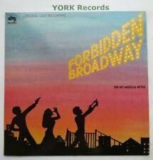 FORBIDDEN BROADWAY - Original Cast Recording - Ex Con LP Record DRG SBL 12585