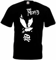 Misfits v38 poster T shirt black all sizes S-5XL