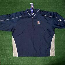 Men's MIZUNO John Paul II High School Baseball Athletic Windbreaker Pullover XXL