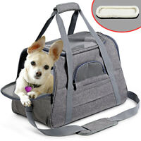 Pets Carrier Portable Transparent Foldable Cat Dog Puppy Shoulder Travel Bags AU