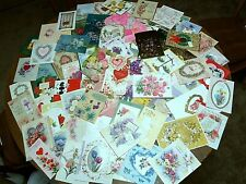 Lot 75 Vtg. Wife Greeting Cards 50's - 60's Birthday Mother's Day Easter & More