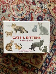 Cats & Kittens Memory Game RRP £14.99