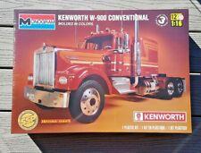 REVELL 1/16 KENWORTH W-900 CONVENTIONAL TRUCK PLASTIC MODEL KIT  # 85-2501 F/S