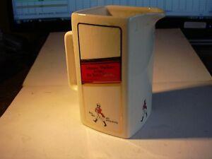 Ceramic jug - Seton Pottery - Johnnie Walker Old Scotch Whisky