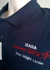 """MEDIUM LOCKHEED MARTIN NASA SHIRT """"MARS INSIGHT LANDER"""""""