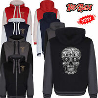 Hot rod 58 Black Mexican Sugar Skull Alternative Hoody Hoodie zipper Jacket 124