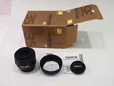 Nikon Nikkor AF-S DX 35mm F/1:8 G w/ original box, manual  and hood