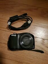 Nikon CoolPix L610 14x Wide Zoom Full HD with cable for parts only