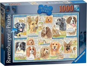 Jigsaw Puzzle - DUTIFUL DOGS - 1000 Pieces