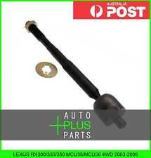 Fits LEXUS RX300/330/350 MCU35/MCU38 4WD 2003-2006 - Steering Tie Rod