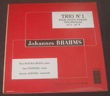 Brahms Trio No. 1 Skoda / Janigro / Fournier VEGA C30 A9 LP