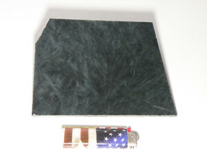 "Blue Dream Jade 1/4""+ Slab (Lapidary or Jewelry Rough - Nephrite)"