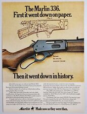 1975 Print Ad Marlin Model 336. Lever Action Rifles North Haven,Connecticut