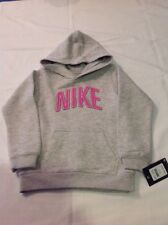 Girls Youth Nike Pullover Cotton Blend Hoodie Gray 6X NWT