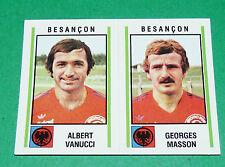 N°357 VANUCCI - MASSON BESANÇON D2 PANINI FOOTBALL 81 1980-1981