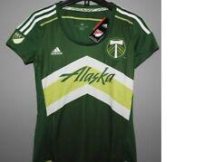 MLS Portland Timbers Alaska Adidas Soccer Jersey New Womens Size S