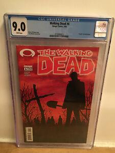 Walking Dead 6 CGC 9.0 Image Comics Death of Shane
