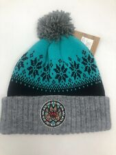 Vancouver Grizzlies VTG NBA Cuff Knit Pom Winter Beanie Hat, Mitchell & Ness