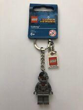 LEGO DC Super Heroes Cyborg Minifigure Keyring Keychain 853772 6217209