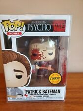 Funko Pop Patrick Bateman American Psycho #942 CHASE NEW - IN PROTECTOR - RARE!!
