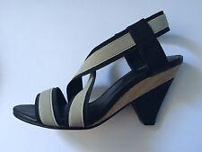 Senso heels size 37 size AU 6.5 black sample slingbacks