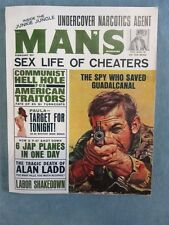 MAN'S MAGAZINE Men's Pulp/Adventure Magazine February 1965