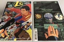 LEGION OF SUPER-HEROES #1,#1 VARIANT/MAIN/BENDIS/DC Comics (9.6+)