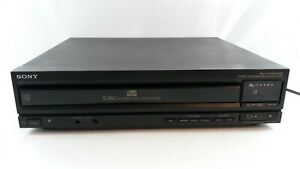 Sony CDP-C500 5 Disc CD Changer CD Player (No Remote) Tested Works