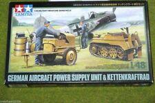 Tamiya POWER SUPPLY & KETTENKRAFTRAD 1/48 Scale Kit 32533