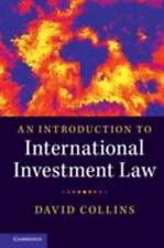 Introduction to International Investment Law: By Collins, David