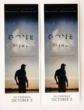 GONE GIRL FILM BOOKMARKS X 2 - BEN AFFLECK ROSAMUND PIKE