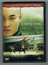 LE MAÎTRE D'ARMES (FEARLESS) - JET LI - RONNY YU - TRÈS BON ÉTAT