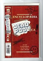 ENCYCLOP/EDIA DEADPOOLICA #1 1998 NEAR MINT 9.4 2815